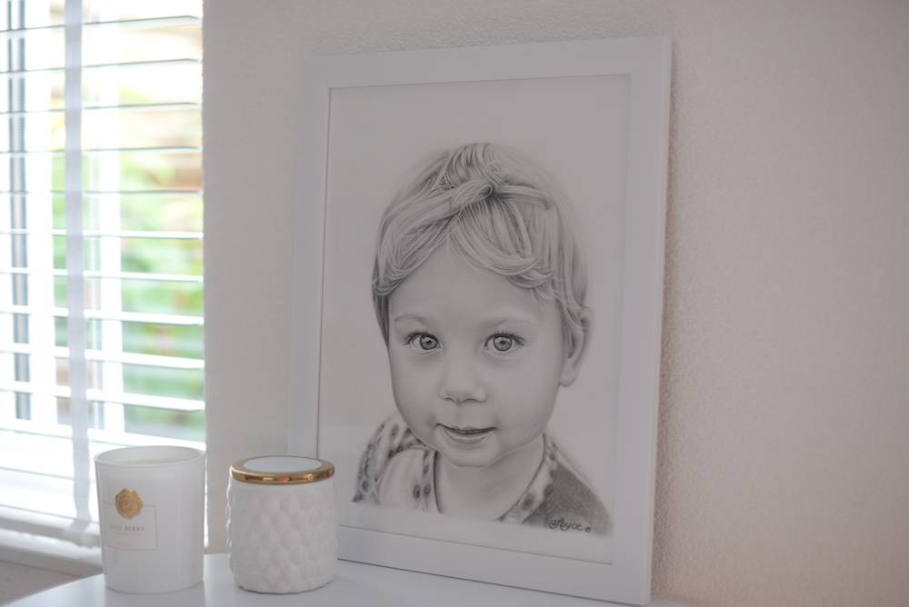 Portrettekening van Skyler door Art4Joy