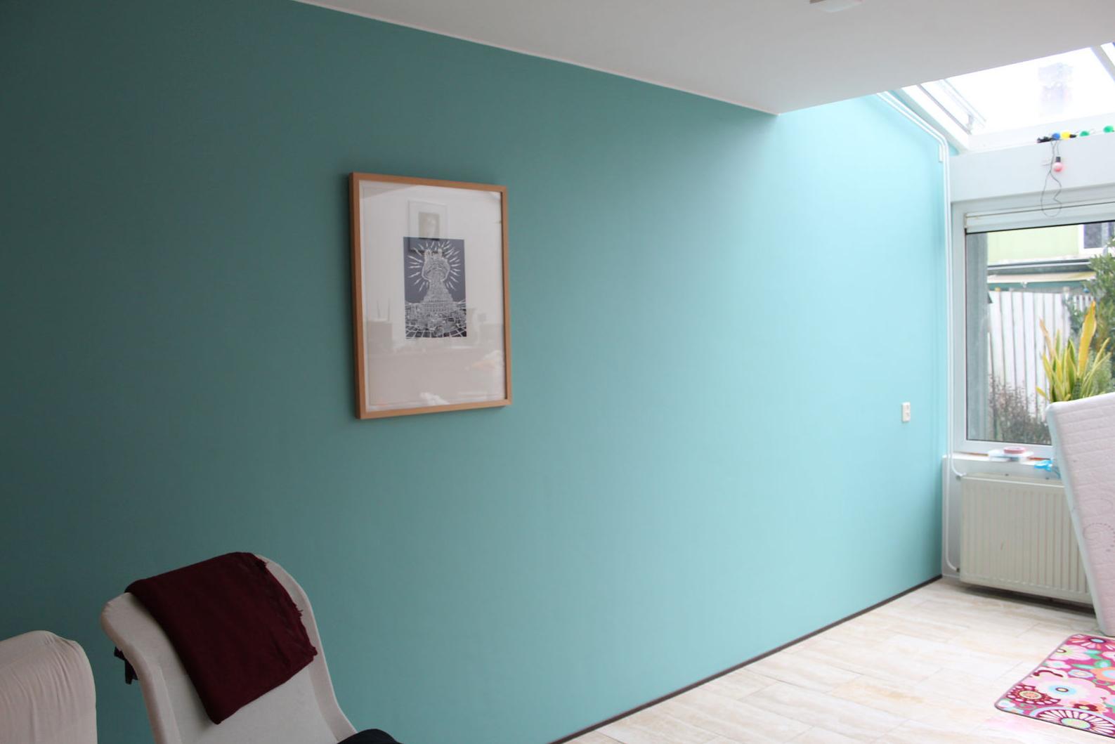 Inspiratie voor de babykamer ii vintage blue mommyhood - Verf babykamer ...