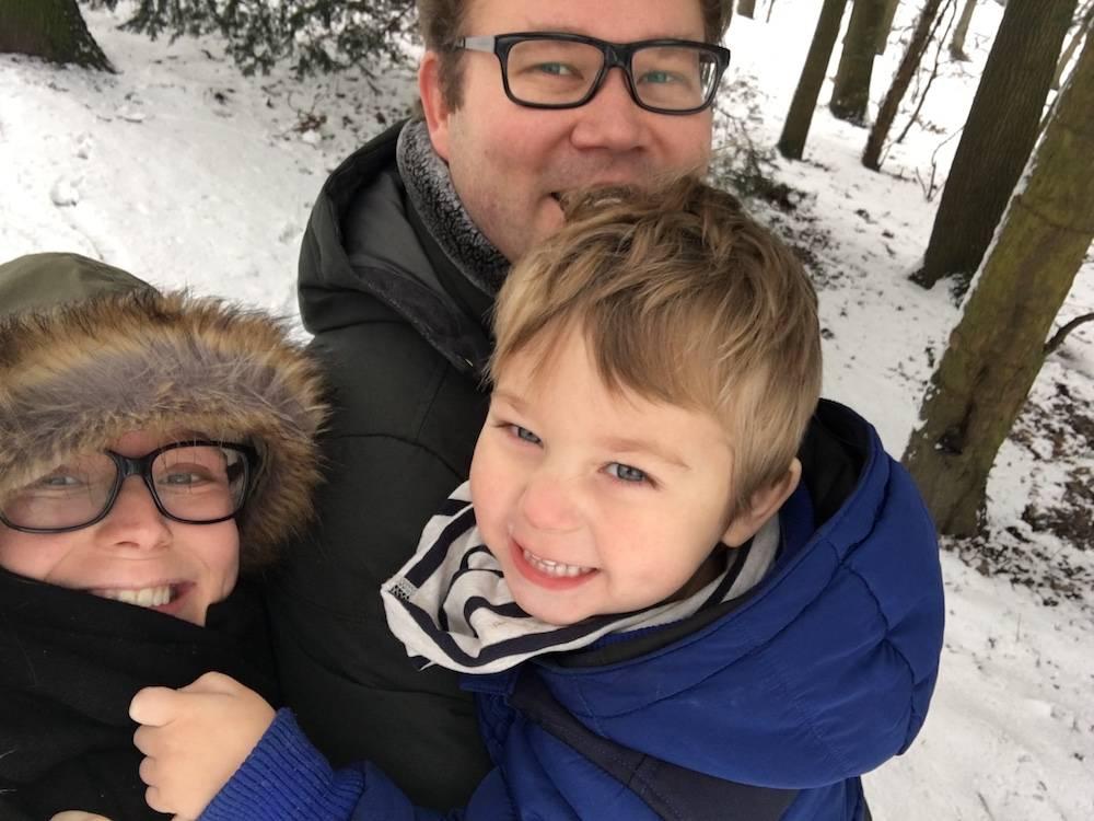 Diary: baby-knuffelen & sneeuwpret