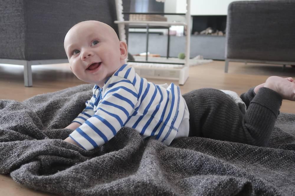 Maddox is vijf maanden. VIJF!