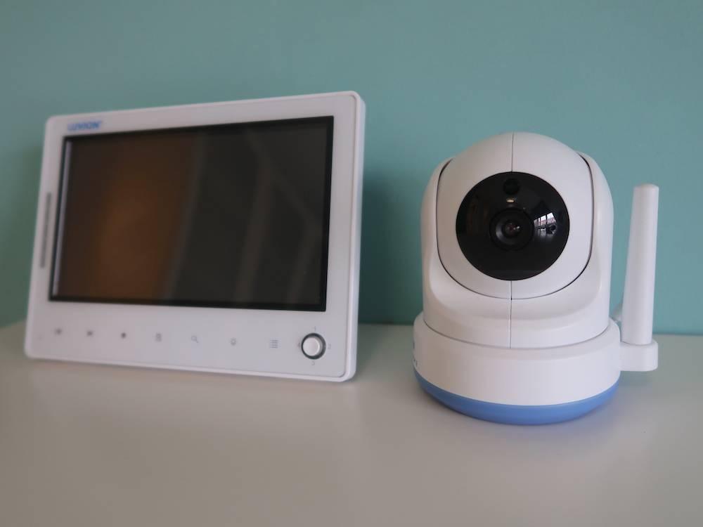 Babyfoon met camera: Luvion Prestige Touch 2 (beste volgens consumentenbond!)