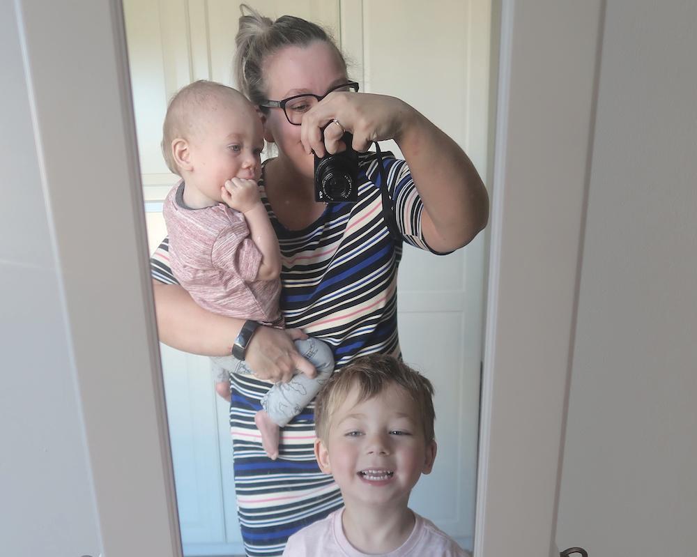 Mom & kids week in outfits #1