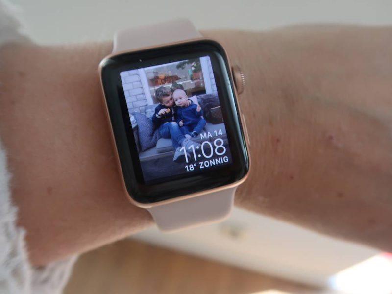 wandeling opnemen op apple watch