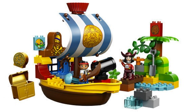 Jake's piratenschip Bucky van Duplo