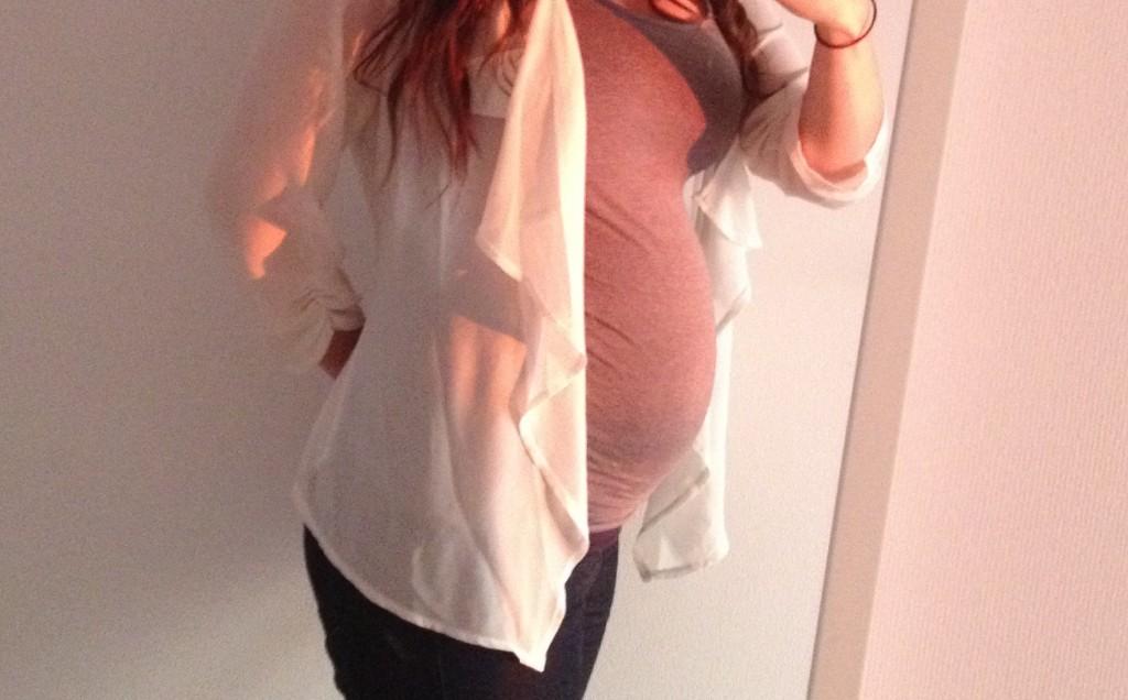 Betty's zwangerschap: week 23