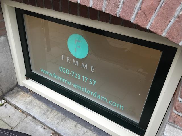 Alles onder één dak: Femme-Amsterdam