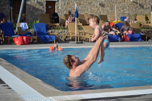 Op vakantie zonder kindje
