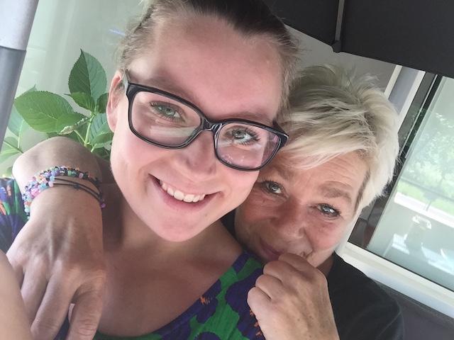 Diary 03-07: dagje thuis met mams