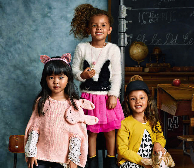 H&M Kids back to school collectie