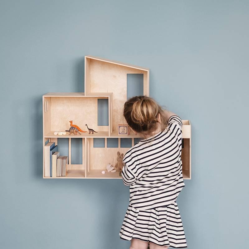 13 x houten poppenhuizen