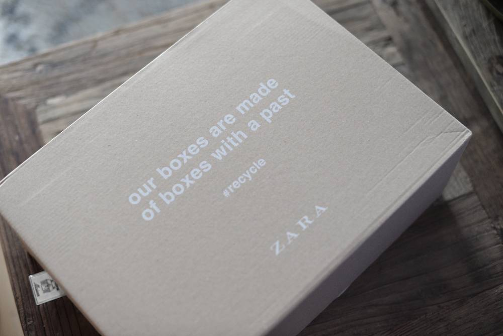 Zara-sale bestelling voor de boys