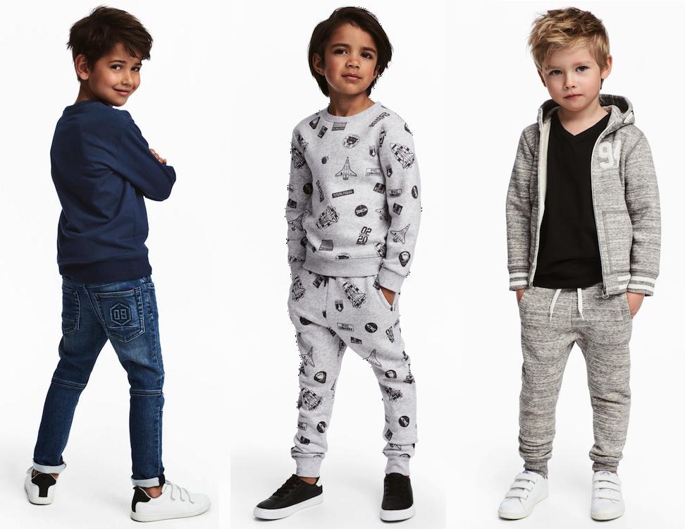 Favorieten van H&M voor de jongens