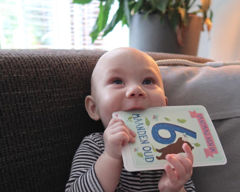 Hoera, Maddox is zes maanden!
