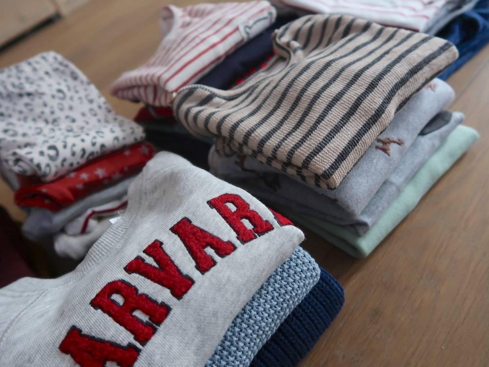 Shoplog voor Maddox: garderobe in maat 68