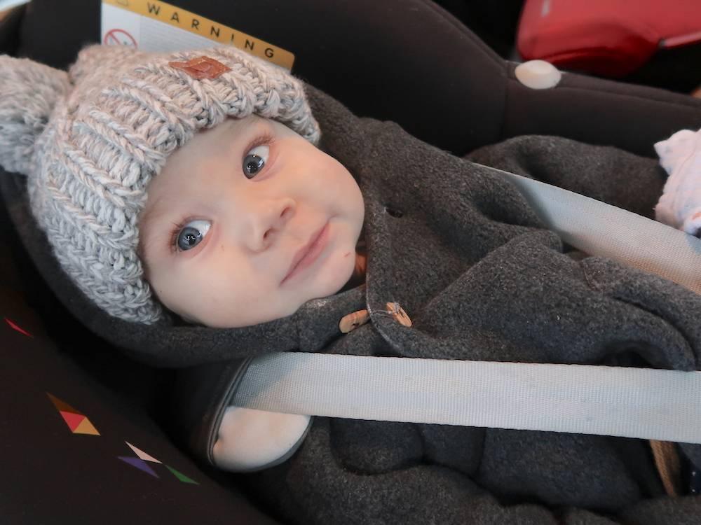 Maddox is zeven maanden (verschil met Skyler)