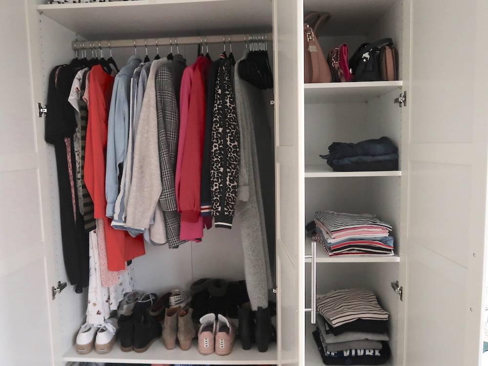Project kledingkast: poging 1