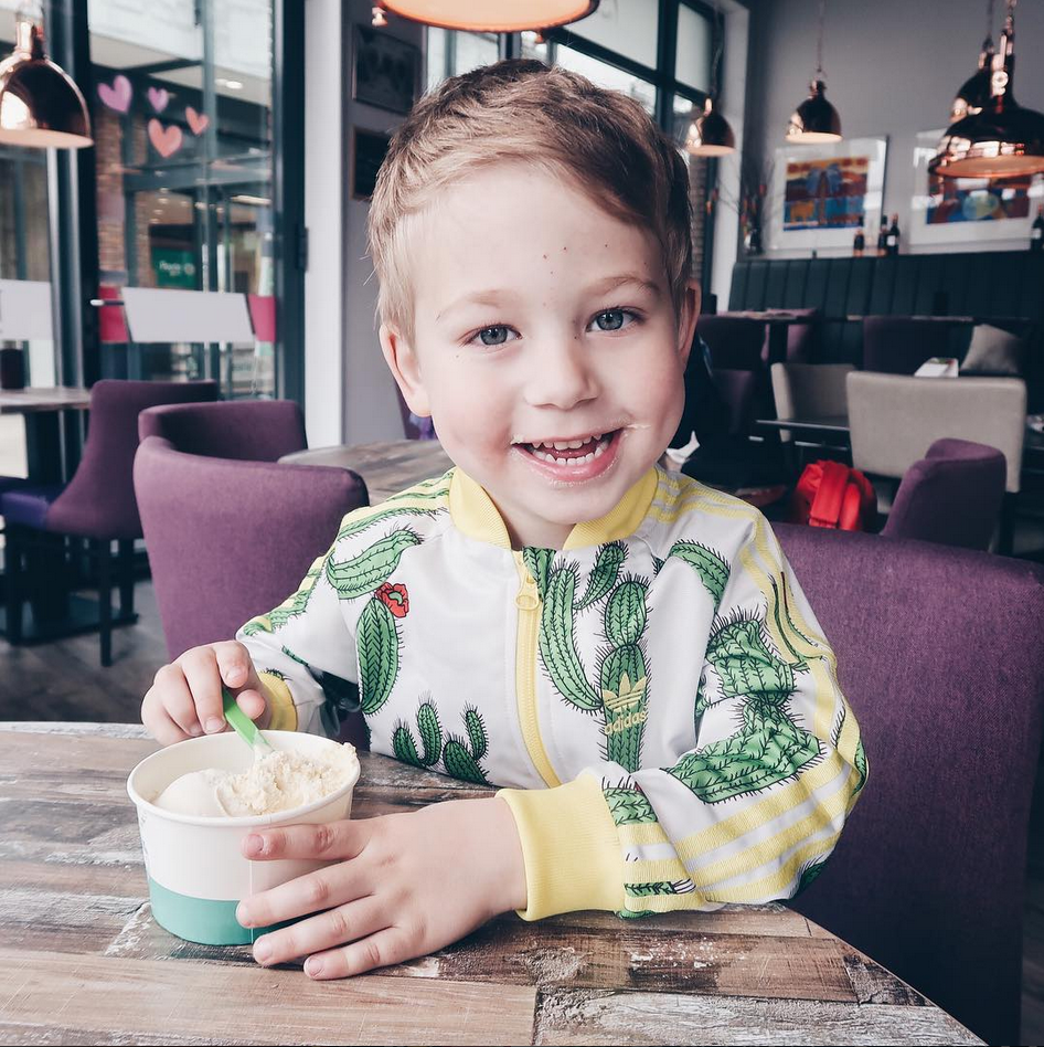 Skyler is 4.5 jaar!