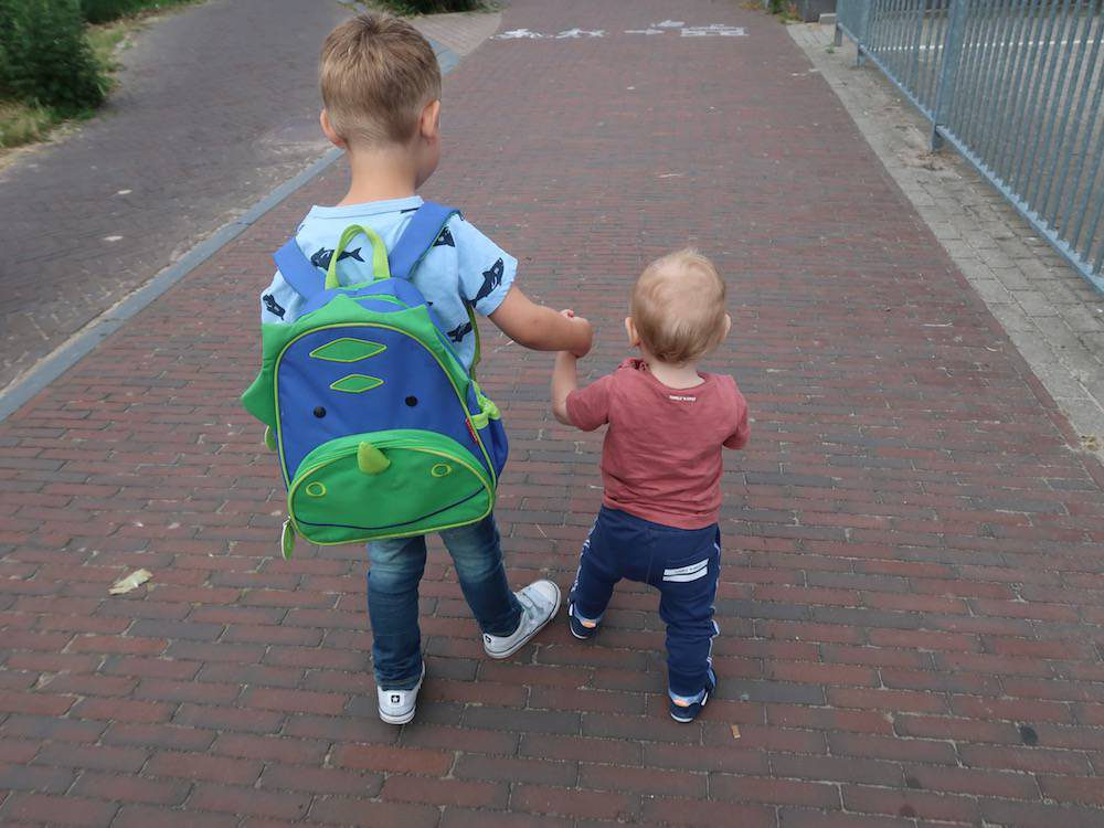 Zijn school en kinderdagverblijf op de hoogte van mijn blog?