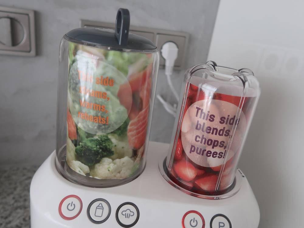 Review: food processor, RVS babyfles & hervulbare fruitzakjes (&WIN!)