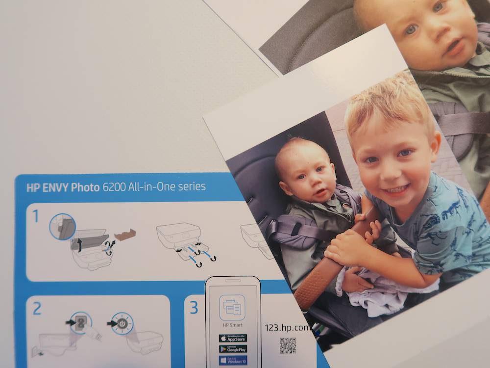 Gemakkelijk thuis jouw foto's printen met HP ENVY