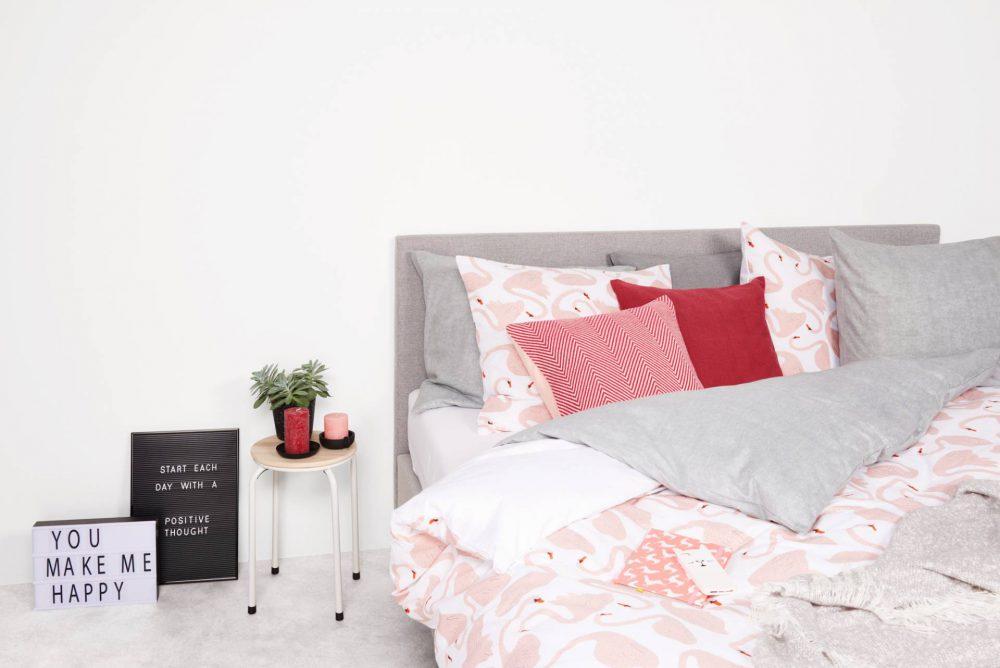 HEMA bed decoratie