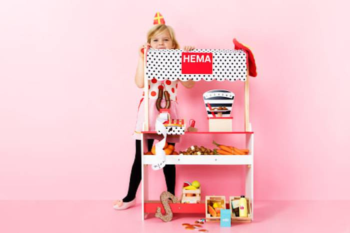 Op de verlanglijst: nieuw houten speelgoed van Hema
