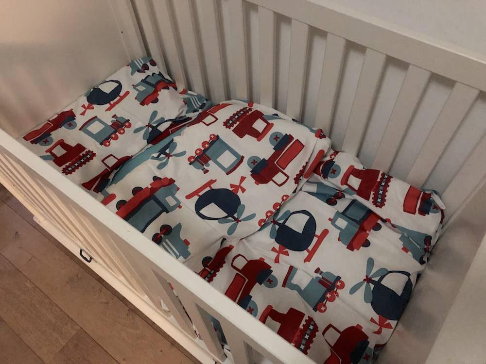 Mijn kinderen & slapen (dekbed in een ledikant?)