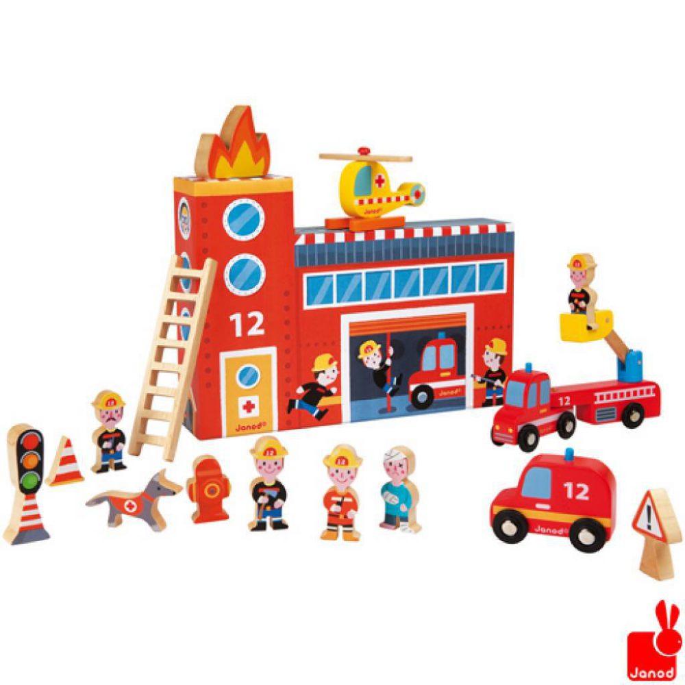 janod-story-box-de-brandweer