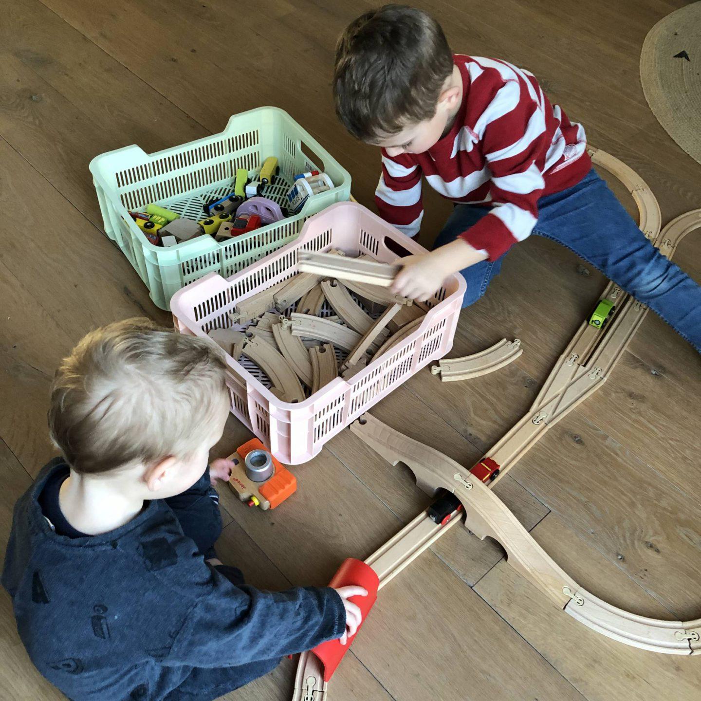 Zo hou je het speelgoed interessant voor de kinderen