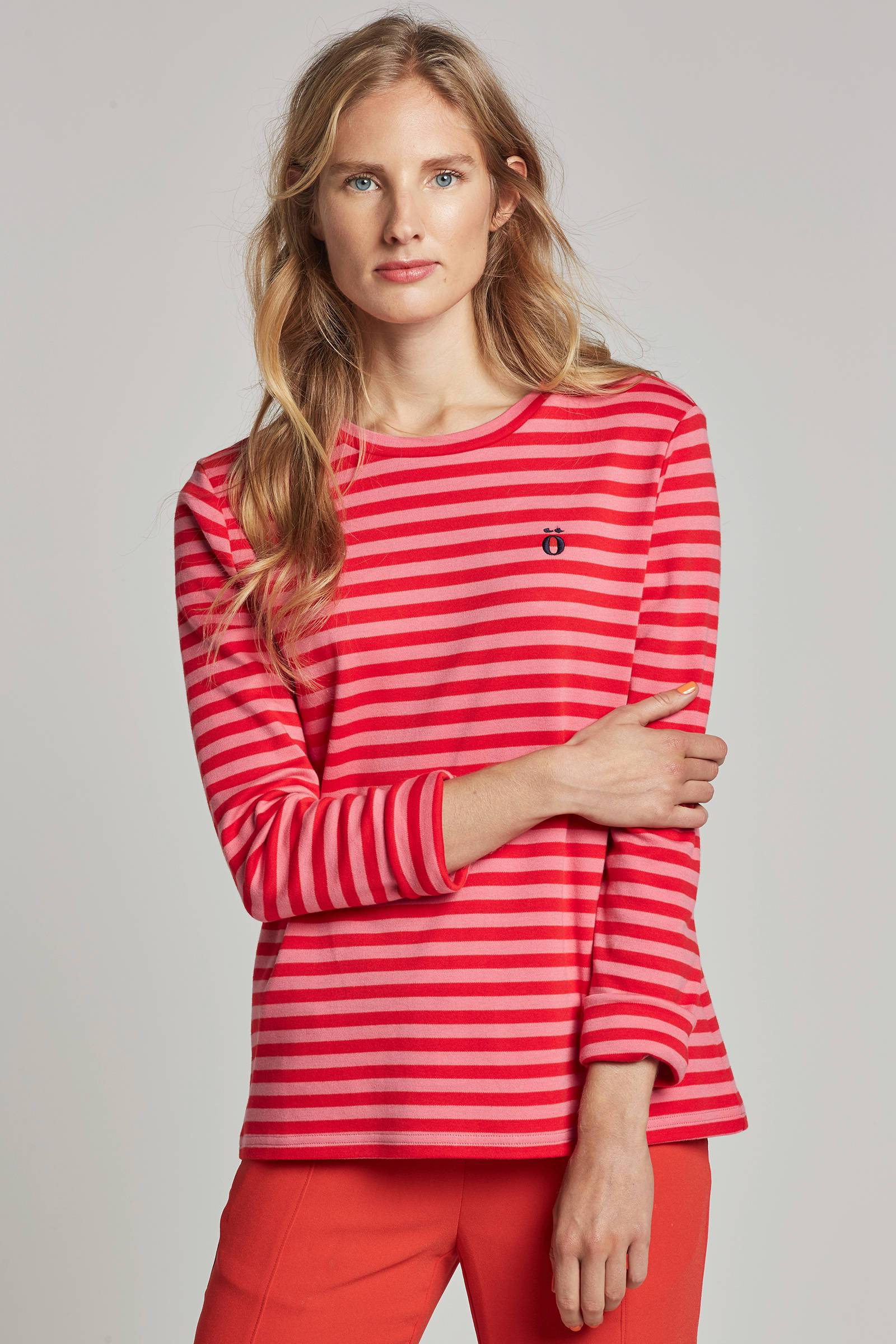 modstrom-noir-t-shirt-met-streepdessin-roze-5711592919803