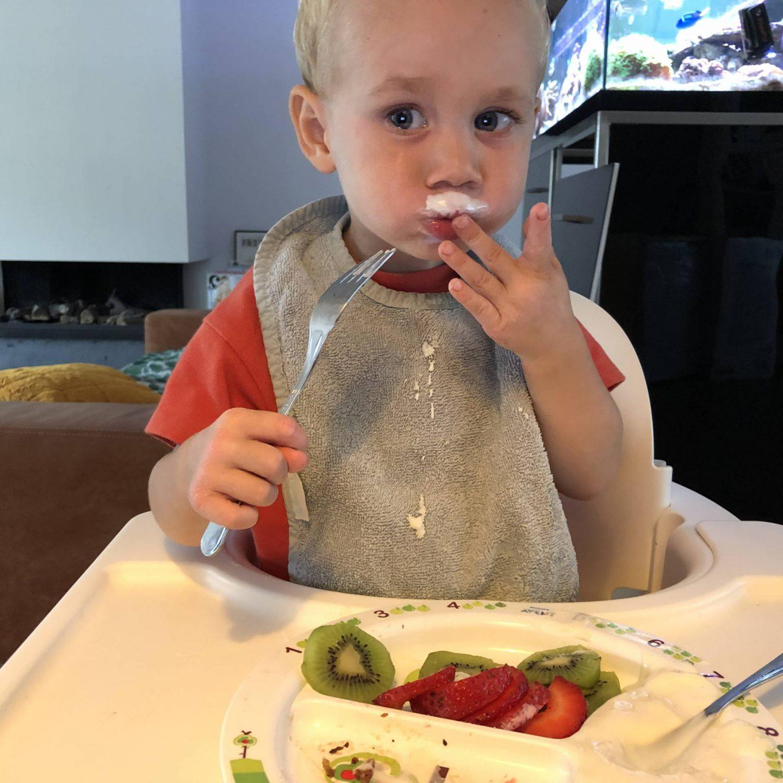 Maddox' favorieten samengevoegd tot een voedzaam en gezond ontbijtje