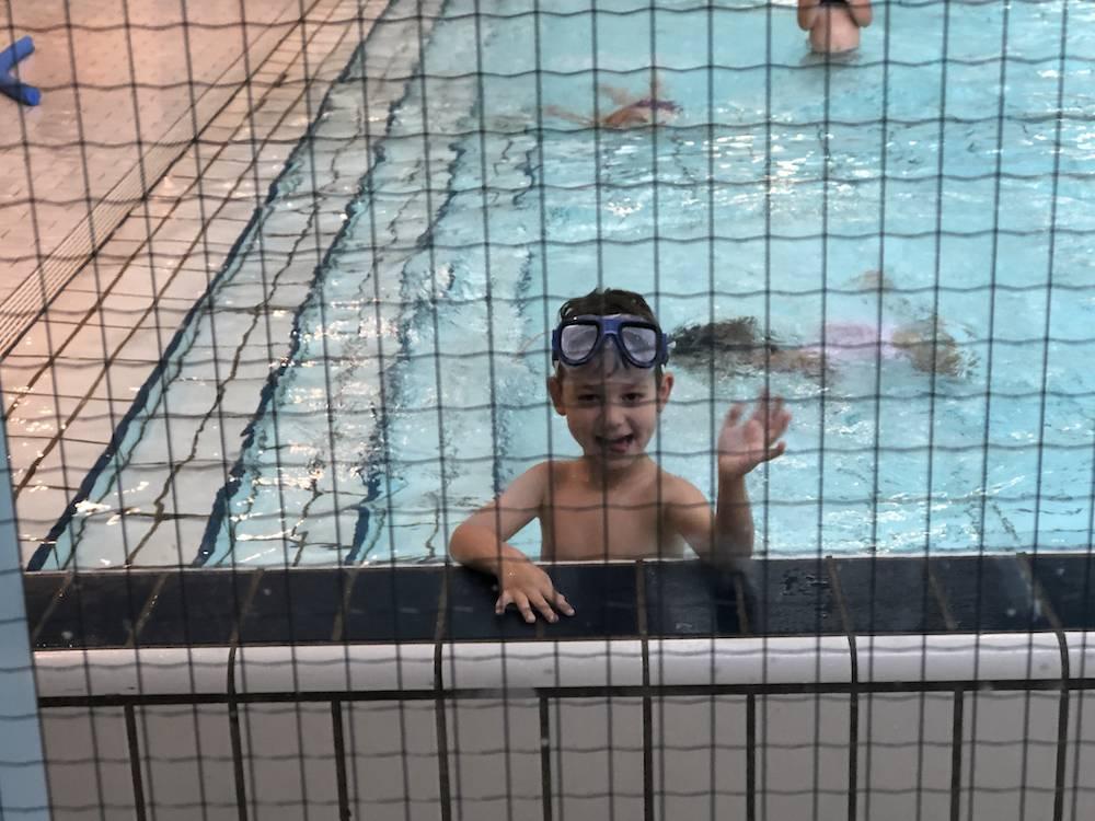 Vijf maanden zwemles: Kikker-diploma