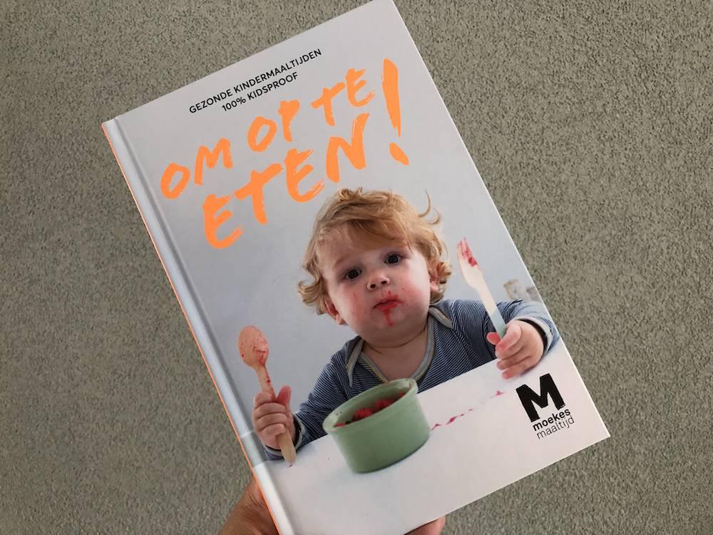Moeke's Maaltijd heeft een kookboek met baby- en kindermaaltijden