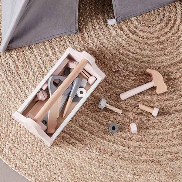 De leukste houten gereedschap speelsets voor de kinderen