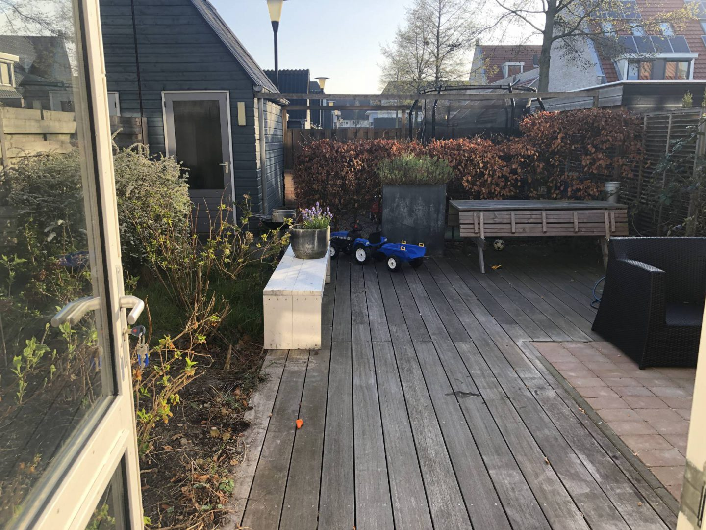 Project tuin begint goede vormen aan te nemen