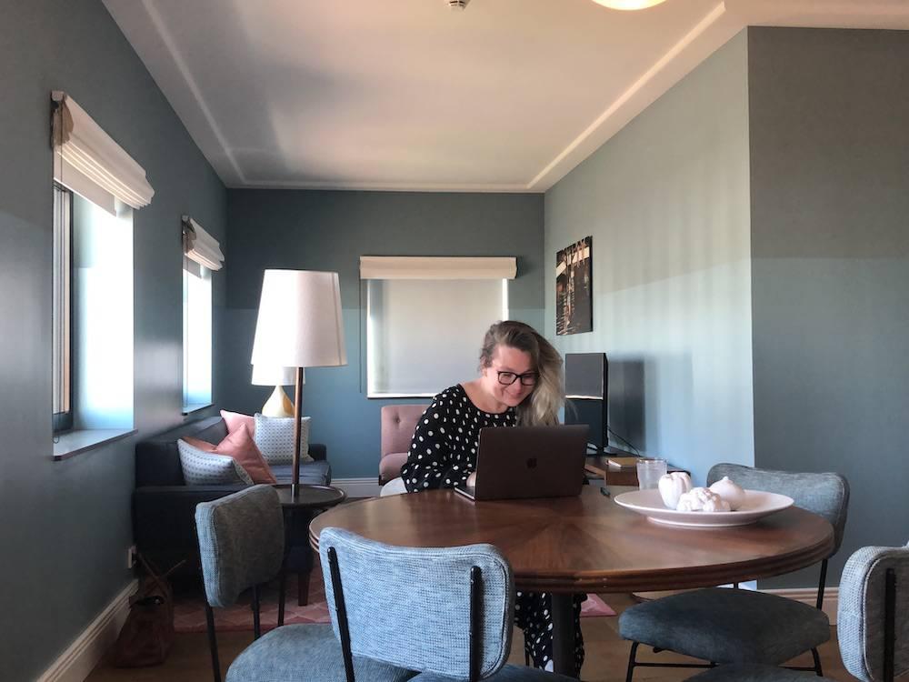 Een dag buiten de deur werken in een hotel in Amsterdam