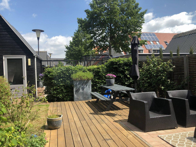 Onze tuin is voor nu zomerklaar!