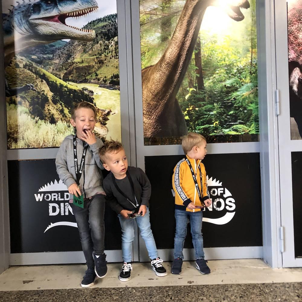 Wij gingen naar World of Dinos!