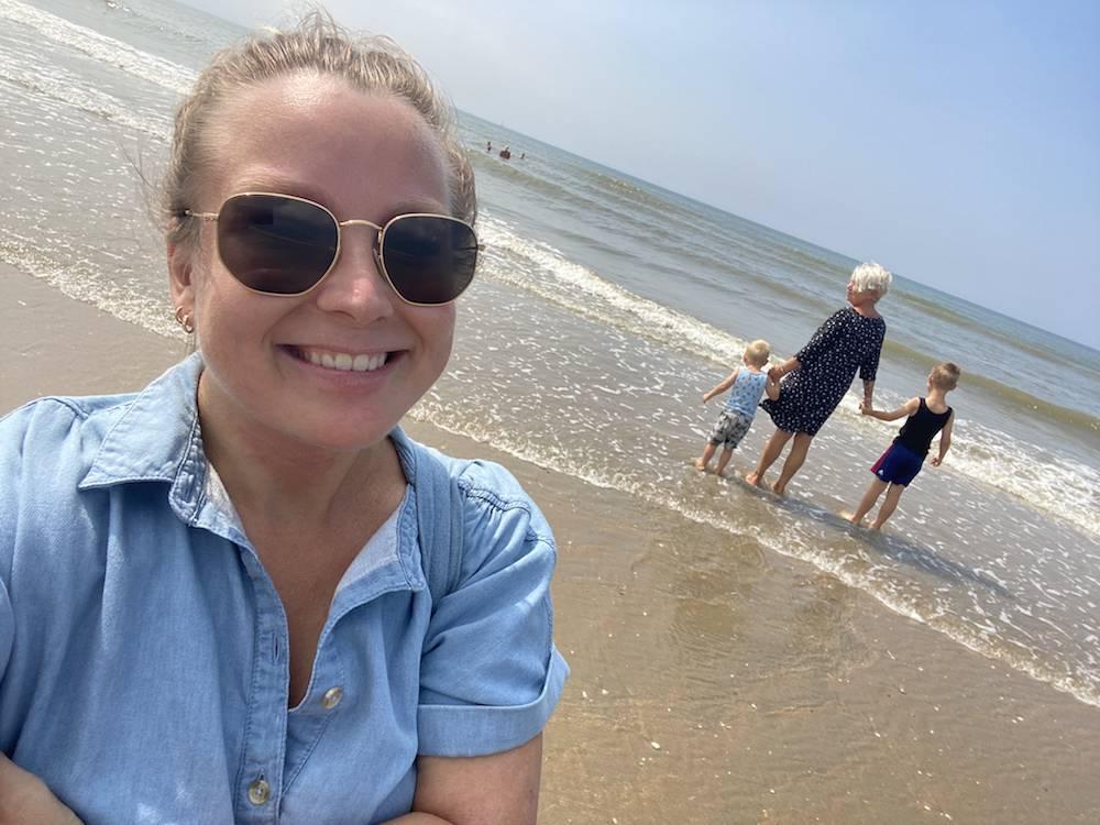 DIARY: strand, bos, camping kijken en weer veel bewegen