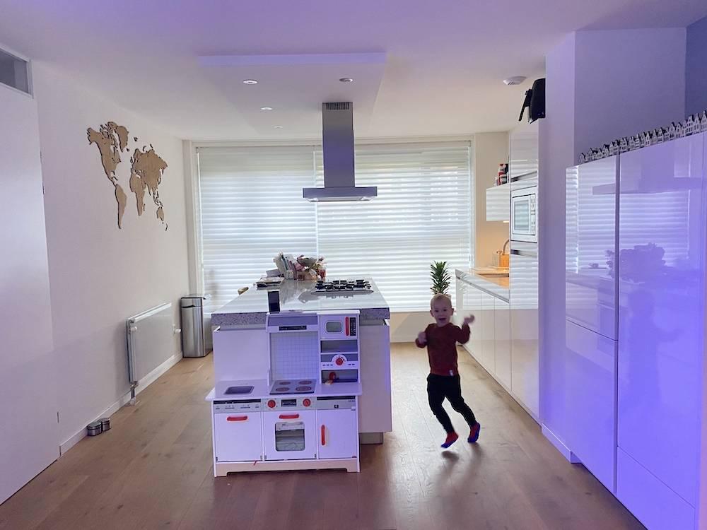 Eindelijk hebben we onze uitgebreide keuken!