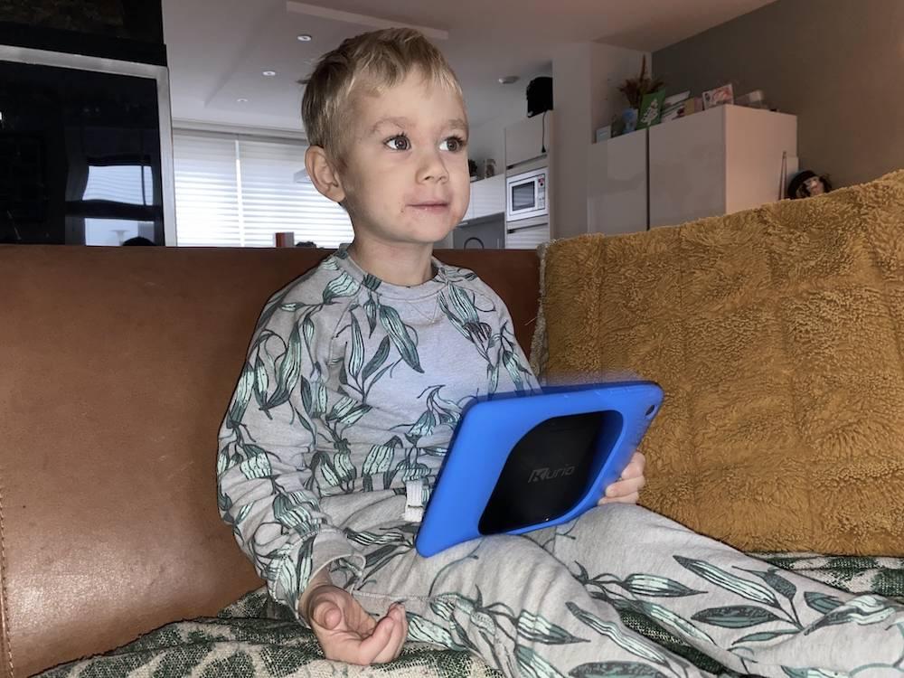 Review: de peuterproof kindertablet van Kurio