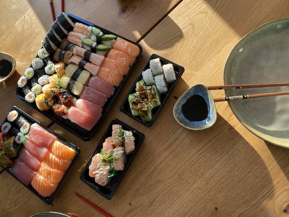 DIARY: nieuwe nagels, Hoorn & sushidate