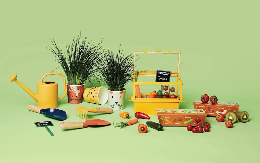Tuinieren met kinderen: collectie van Hema & toffe items van andere merken!