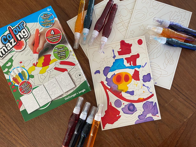 Colourmazing voor onze Picasso